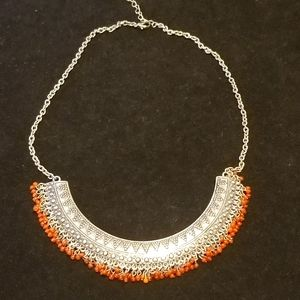 NEW FREE PEOPLE TRIBAL NECKLACE!